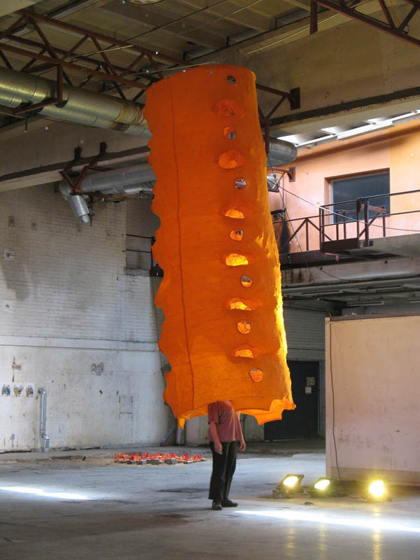 Pia Männikkö: Big orange, 2010
