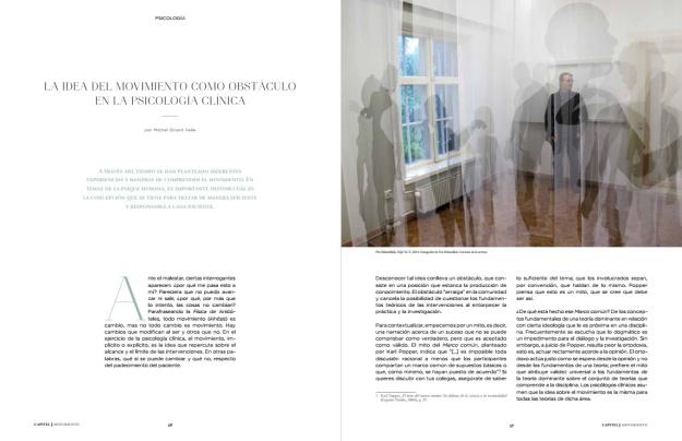 Pia Männikkö: Deja Vu, Capitel Magazine